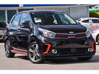 2020  KIA PICANTO GT-Line HATCHBACK (Black) Demo Car Thumbnail